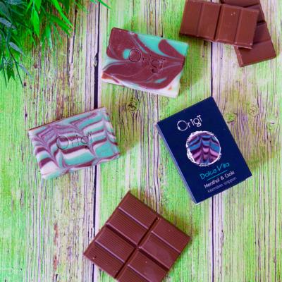 Kép 2/3 - origi csoki mentol natúrszappan