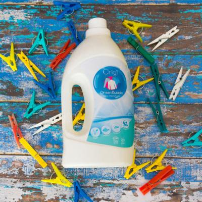 Kép 1/2 - környezetkímélő zöld öko mosószer