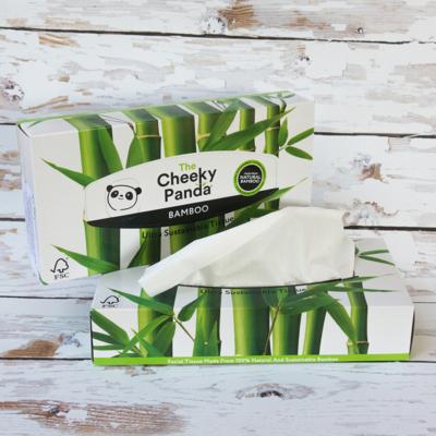 Kép 1/2 - cheeky panda bambusz papírzsebkendő