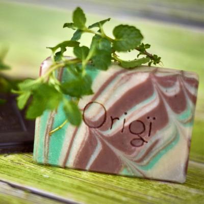 Kép 3/3 - origi csoki mentol natúrszappan