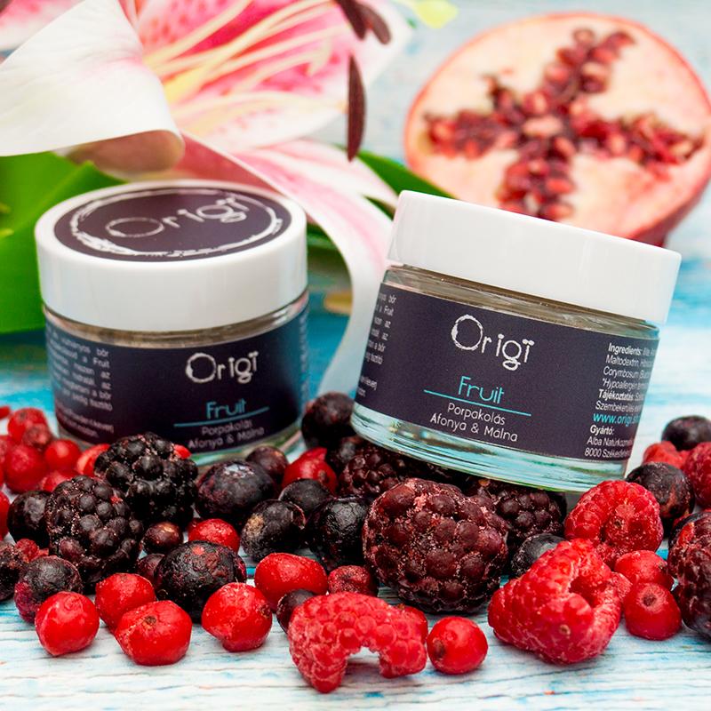 origi fruit hidratáló arcpakolás