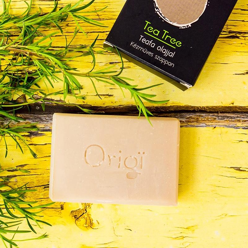 origi natúrszappan teafa olajjal