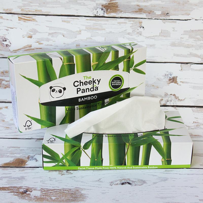cheeky panda bambusz papírzsebkendő